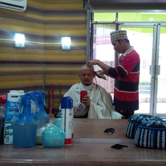Kerusi Gunting Rambut